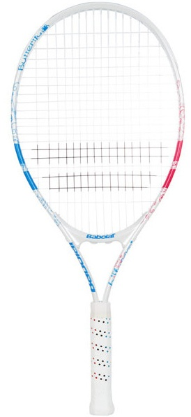 """NEW Babolat B-Fly Junior 25"""" Tennis Racquet.   This 25"""" racquet is ideal for young players between 9-11 years of age. Good for the small junior just starting out.  $35.00"""