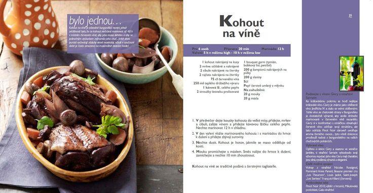 Kohout na víně recept, Tefal Mijotcook SD5000