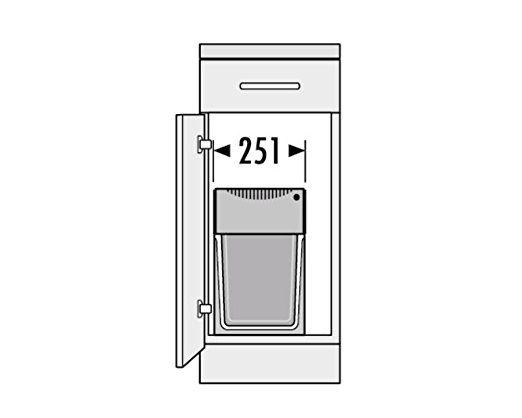 Hailo 3666101 Abfallsammler TA Swing 30.2/30 für Schränke ab 300 mm Breite mit Drehtür: Other People Place: Amazon.de: Küche & Haushalt