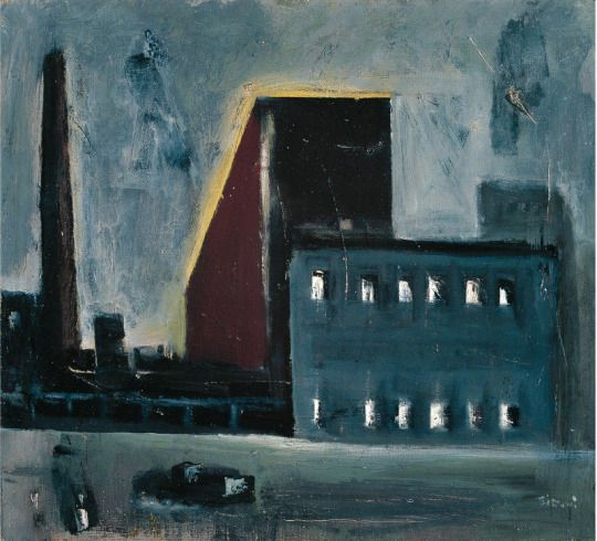 Mario Sironi (Italian, 1885-1961) - Urban Landscape, 1945