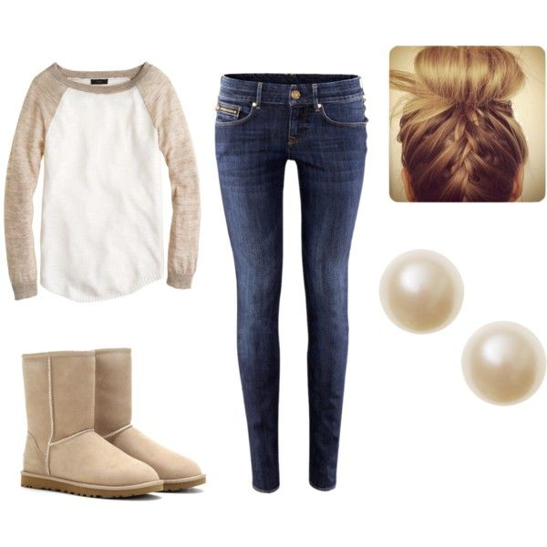 Winter Outfit (not a huge fan of the skinny jeans, but could do the rest)