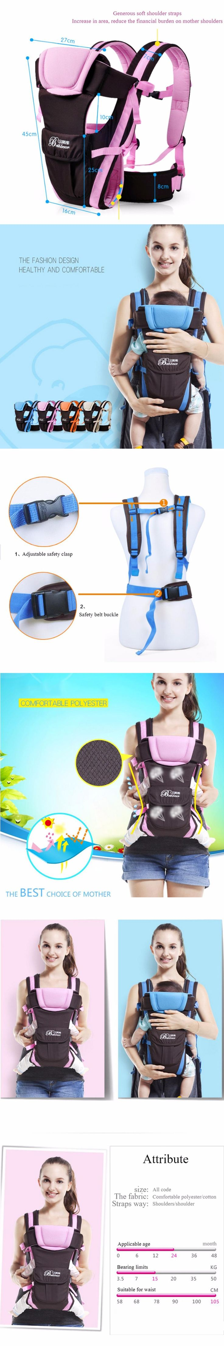 new hipseat for prevent o-type legs aviation aluminum core Ergonomic baby carriers manduca backpack save effort kid sling