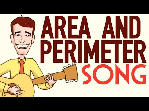 Area and Perimeter Song For Kids | Length Times Width Song - YouTube
