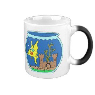 Gold Fish In Bowl Mug