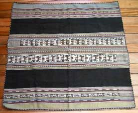 Bolivian Aguayo - Potolo weave I collected many when I lived in La Paz.  I love them.