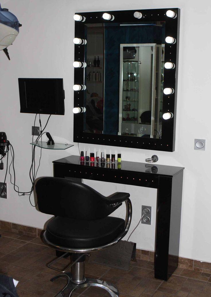 M s de 1000 ideas sobre espejo de tocador en pinterest - Tocador con espejo y luces ...