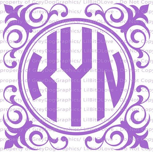 Best Custom Monogram Decals Images On Pinterest - Anchor custom vinyl decals for car