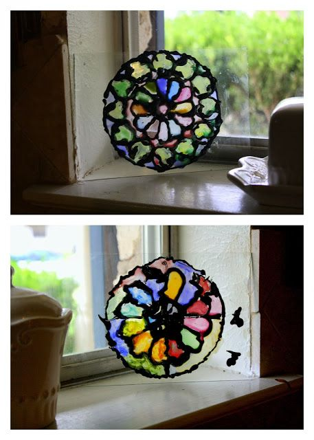 Make Gothic Rose Windows Easy Gorgeous Kids Can Make
