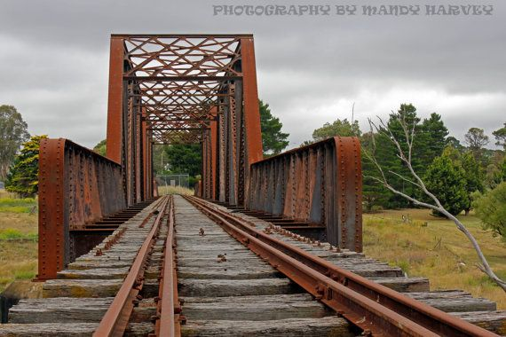 Goulburn Old Railway Line New South Wales Australia