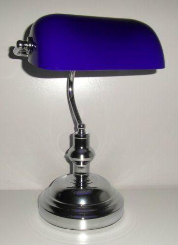300 kr. Desk Office Bankers Lamp Classic Chrome Base 37cm High Light Blue SHade LLOYTRON http://www.amazon.co.uk/dp/B004YC3B3I/ref=cm_sw_r_pi_dp_QjY3wb143V7CM