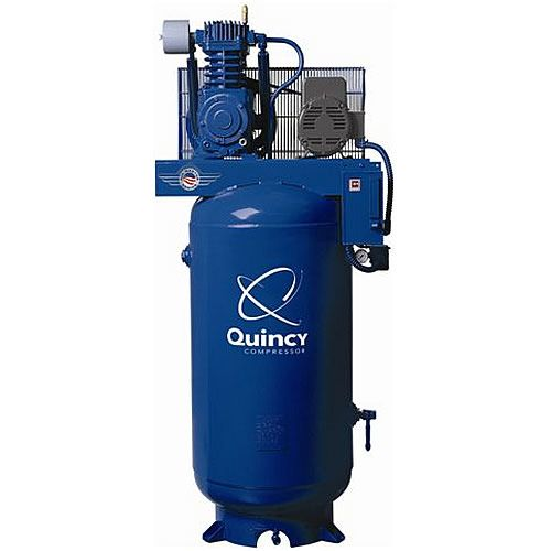 Quincy 7.5-HP 80-Gallon Two-Stage QT Pro Air Compressor (230V 1-Phase)