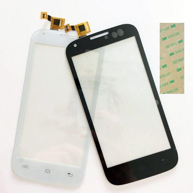 4.5 ''Écran Tactile Digitizer Blanc Pour Fly IQ4406 IQ 4406 ERA Nano 6 écran tactile Tactile de Remplacement Panneau Objectif Façade En Verre lentille