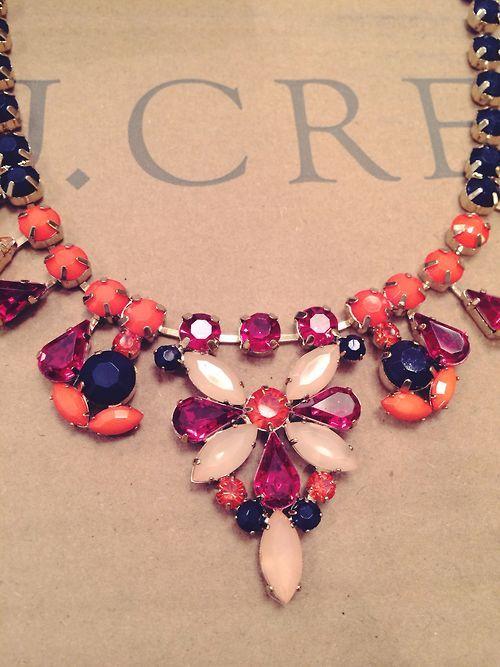 J Crew statement necklace.