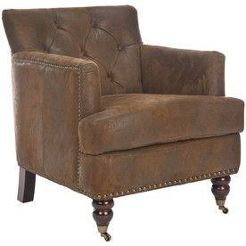 Safavieh�Hudson Collection Brown Club Chair