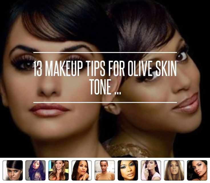2. Pick the Right Concealer - 13 Makeup Tips for Olive Skin Tone ... → Makeup