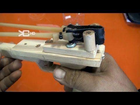 Slingshot Pistol james bond - YouTube