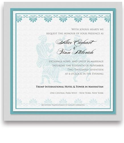 185 Square Wedding Invitations - Greek Lovers by WeddingPaperMasters.com. $481.00. Now you can have it all! We have created, at incredible prices & outstanding quality, more than 300 gorgeous collections consisting of over 6000 beautiful pieces that are perfectly coordinated together to capture your vision without compromise. No more mixing and matching or having to compromise your look. We can provide you with one piece or an entire collection in a one stop sh...