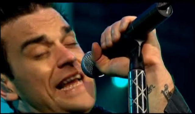 DNES ANGLICKY: Robbie Williams Angel live Zazpívejte si anglicky ...