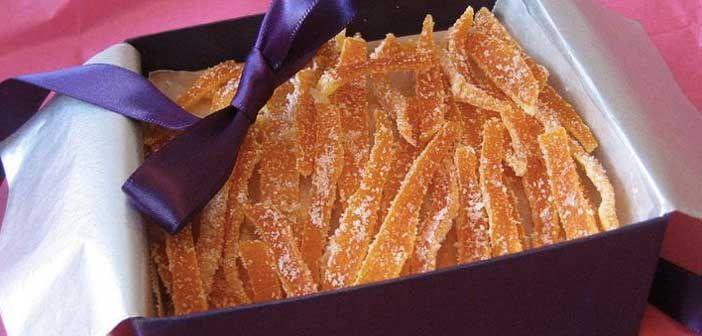 Portakal Kabuklarından Şekerleme Yapın!