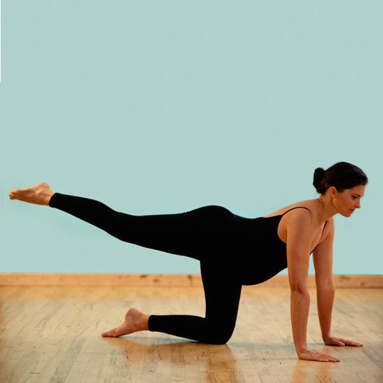 Just because you have a bun in the oven doesn't mean you have to give up on exercise and let your buns go to mush. Aside from yoga, strength training will help an expectant momma stay strong and healthy during her pregnancy, aid in her labor, and be: