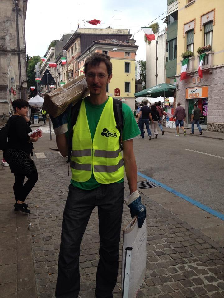 Lavoro a tempo pieno #adunatagreen #alpiniadunata2014 #geatidifferenzia