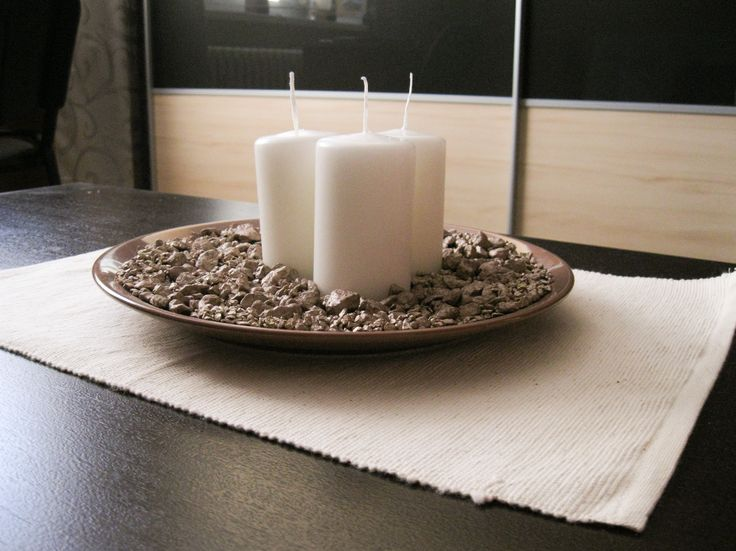 Table Decoration with Candles #decoration #table #candle