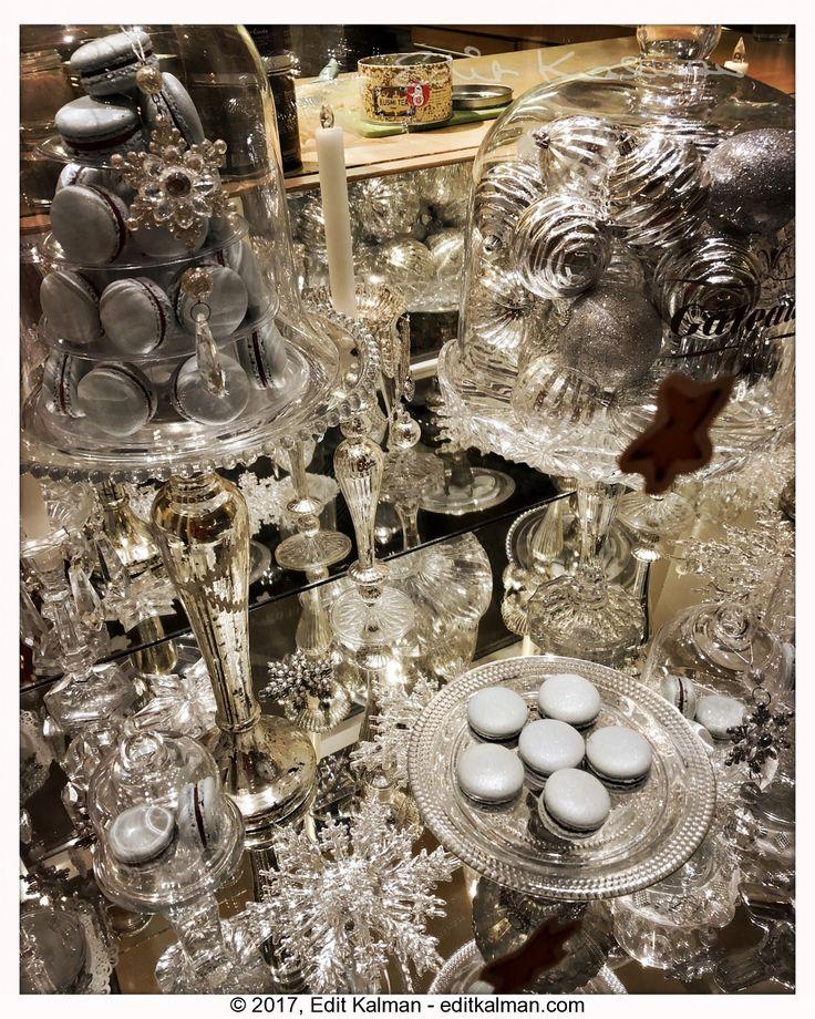 Christmas #Budapest, #Christmas, #Crystal, #Festive, #Glass, #Macaroon, #Silver, #Sparkle - https://goo.gl/jkmLMf
