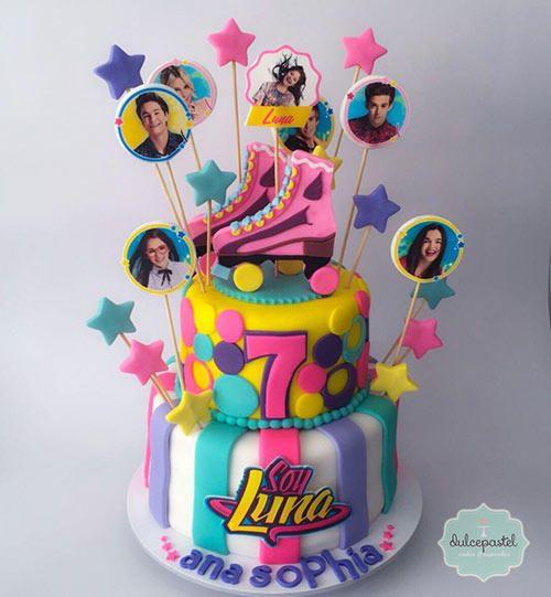 Torta Soy Luna Medellín - Cake by Giovanna Carrillo