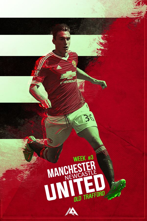 Tomorrow! Manchester United vs Newcastle United! #M9