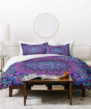 Look at this #zulilyfind! Aimee St. Hill Farah Purple Duvet Cover #zulilyfinds