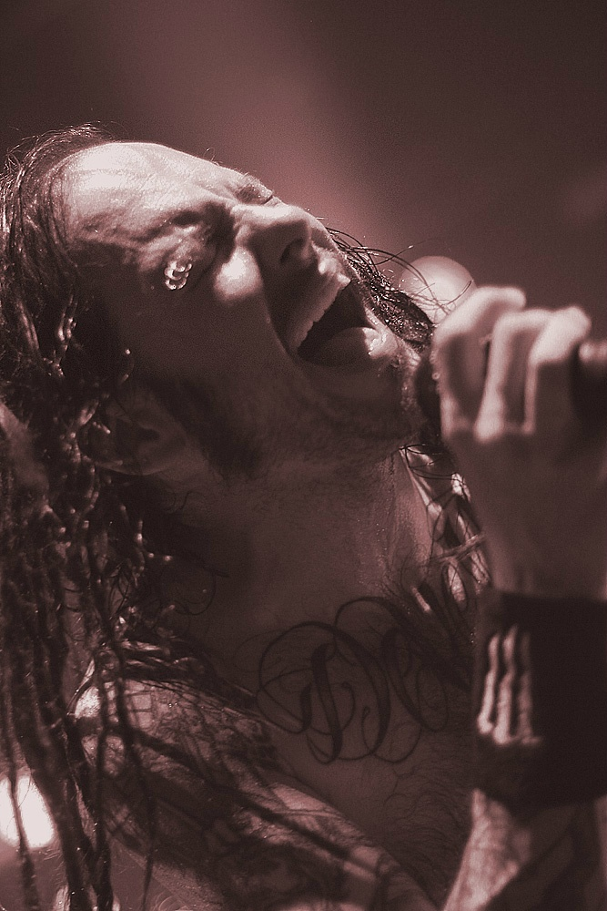 jonathan davis is probably my biggest inspiration because of the way he can channel all his emotions and the journey of pain he has experienced into making songs that actually have meaning
