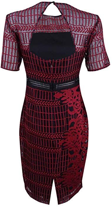 Kleid rot guess