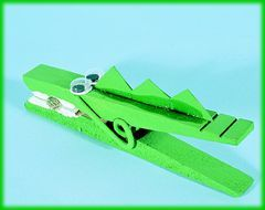 25 best ideas about alligator crafts on pinterest for Small alligator clips for crafts