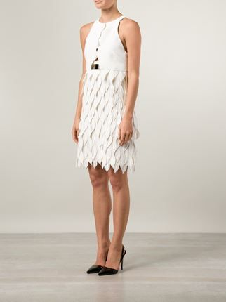 Giambattista Valli petal applique dress