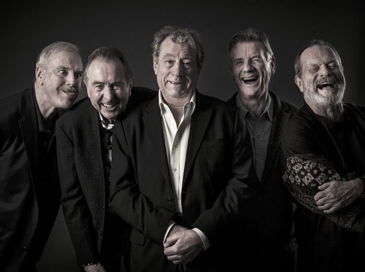 Stunning picture of Monty Python from DMU graduate Andy Gotts