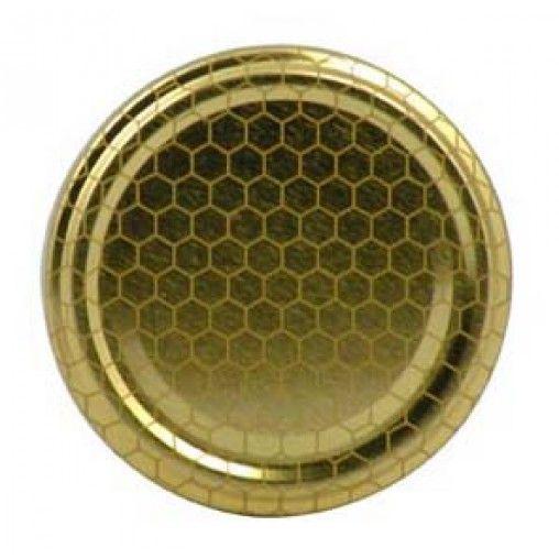 Coperchi vasi miele TO70 - 100 pz