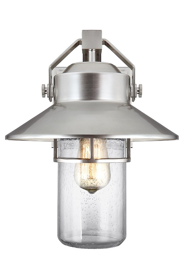 Industrial outdoor lamp - Boynton 1 Light Outdoor Wall Lantern By Feiss Taking Inspiration From Both Industrial And
