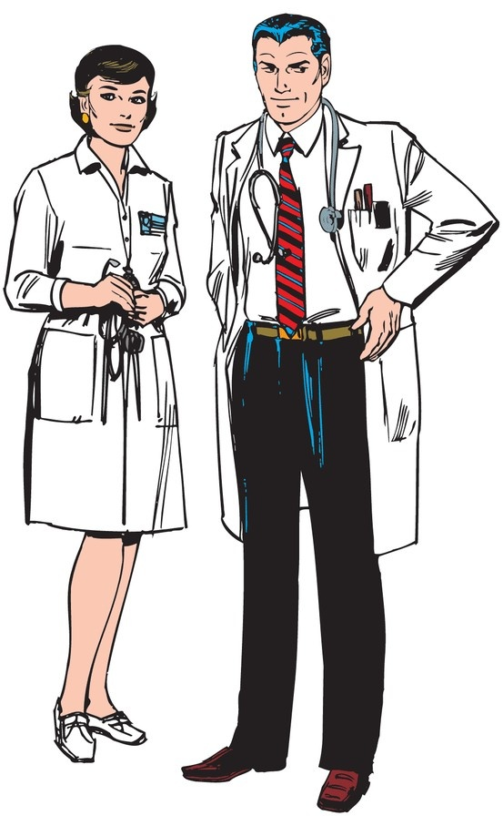 "The comic strip ""Rex Morgan M.D."" continues to be a popular strip about the quintessential family practice physician."