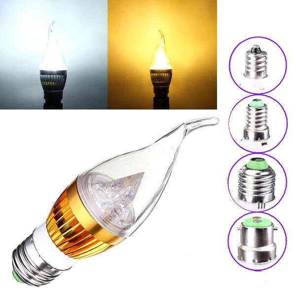 Us 4 30 Dimmable E27 E14 E12 B22 4 5w 220v Led Chandelier Candle Light Bulb Led Light Bulbs From Lights Lighting On Banggood Com In 2020 Light Bulb Candle Led Chandelier Light Bulb