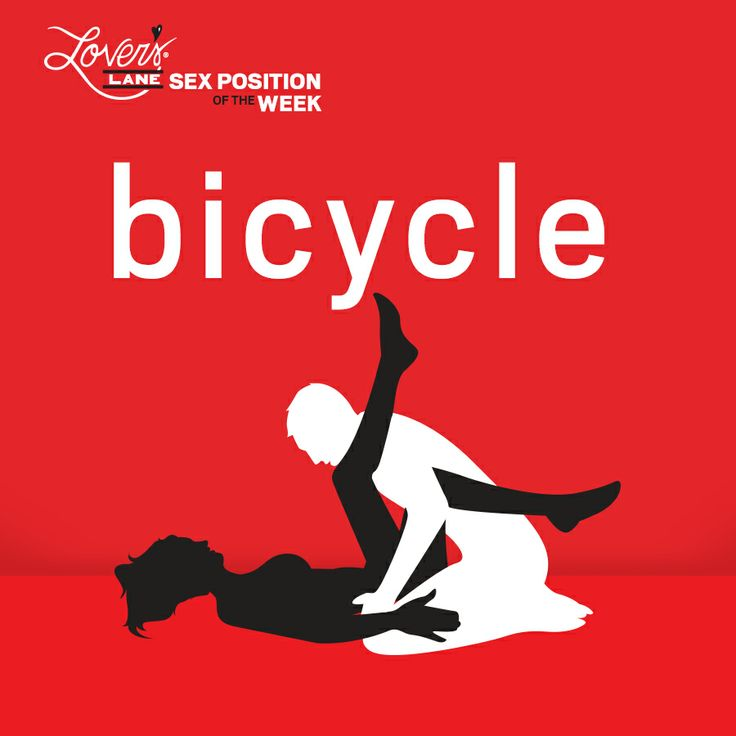 Bicycling sex position