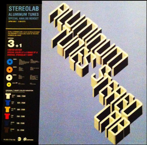 Stereolab Aluminum Tunes Japanese Vinyl Boxset