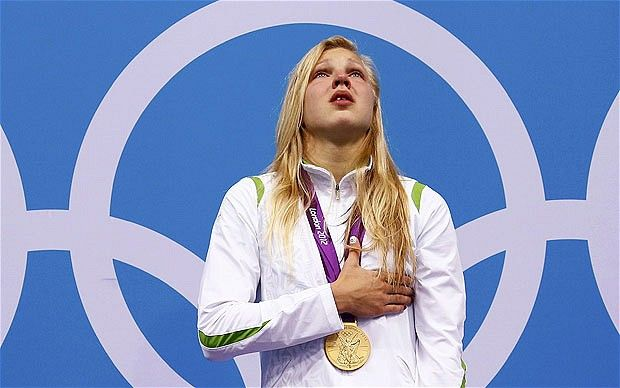 London 2012 Olympics: Ruta Meilutyte's rise from Little Fish to Plymouth school hero and Lithuania's golden girl