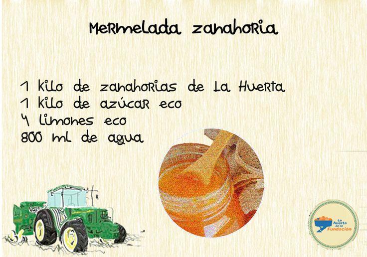 #Recetaecológica: Mermelada de Zanahoria y ¡sorprende en tus fiestas!