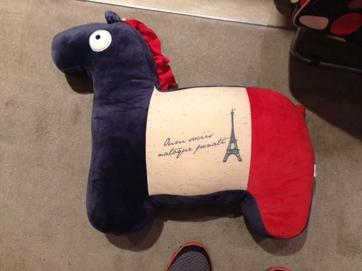 Horse Cushion 2 Was $25, Now $20 (Offer ends 24th July 2014)