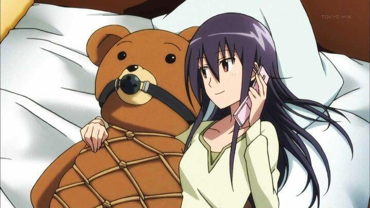 Seitokai Yakuindomo - naughty teddy