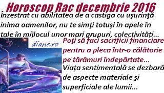 diane.ro: Horoscop Rac decembrie 2016