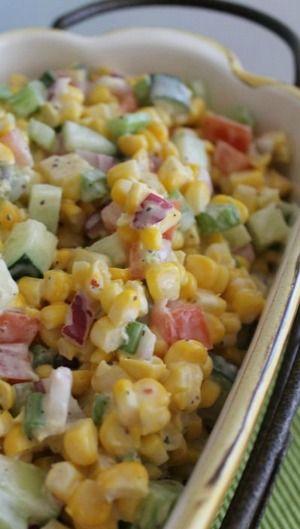 Fresh Vegetable Salad | Bake a Bite