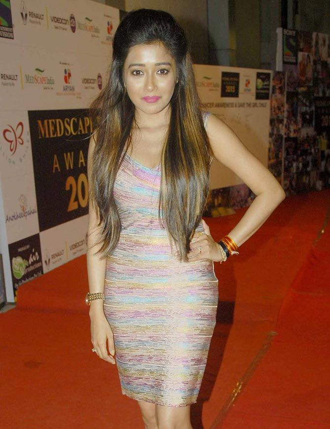Tina Dutta at an awards show. #Bollywood #Fashion #Style #Beauty #Hot #Sexy #Punjabi