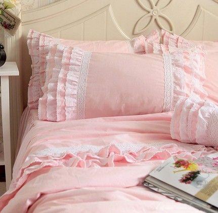 Luxo branco plissado set, Dupla completa rainha rei algodão, Francês princesa casar de têxteis lar colcha colcha em Roupas de cama de Casa & jardim no AliExpress.com | Alibaba Group