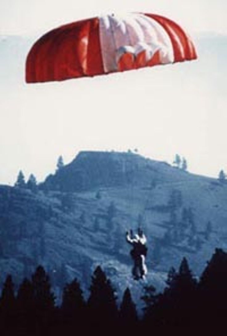 Image result for old photos smokejumpers paul evenson
